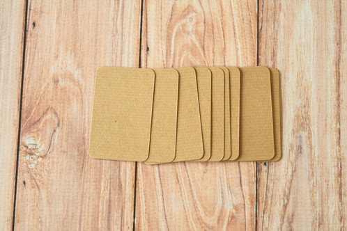 Brown Kraft Cards
